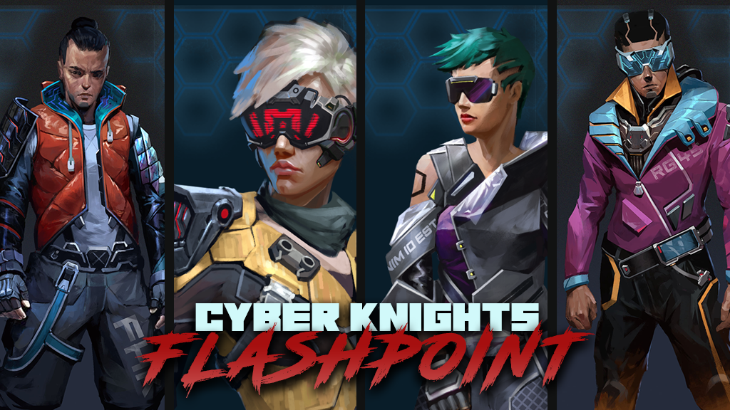 Cyber Knights: Flashpoint by Trese Bros. Games