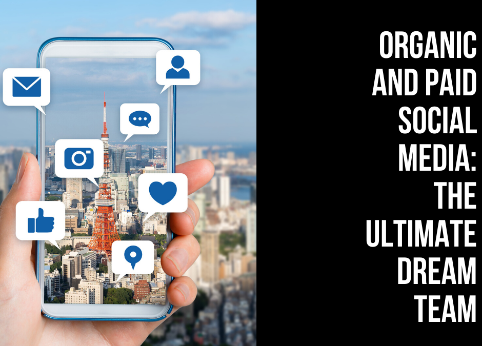 Organic and Paid Social Media: The Ultimate Dream Team